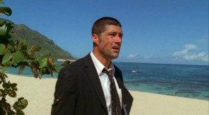 Jack Shephard (played by Matthew Fox) on ABC's drama series LOST.