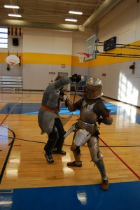 Two SCA Dudes Fighting