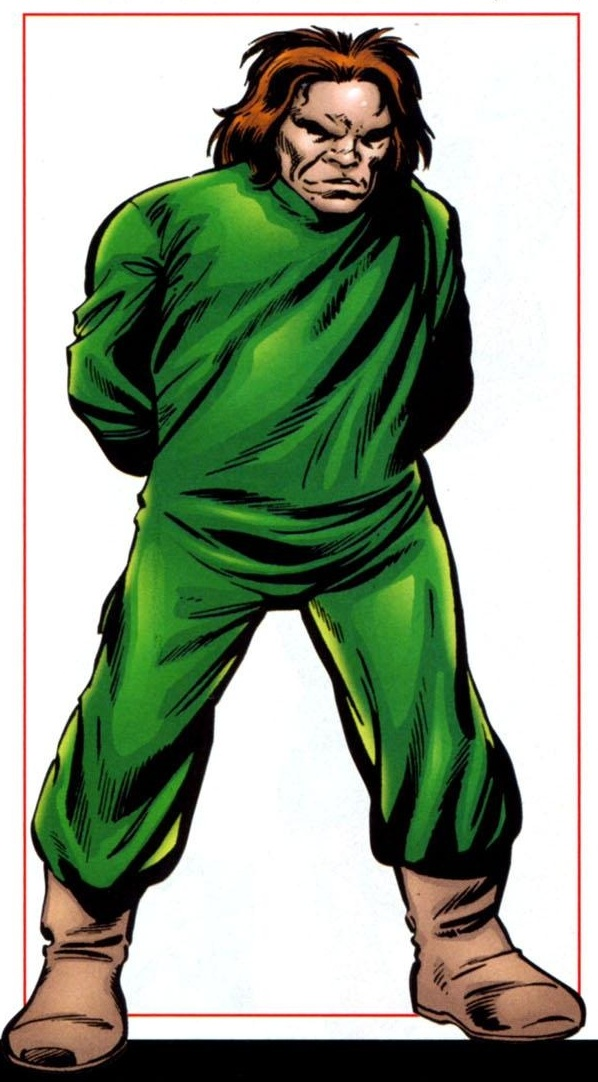 The Mad Thinker is a Marvel Comics character created by Jack Kirby and Stan Lee back in the day.